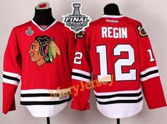 Only $34.88 please email me at maryjerseyelway@gmail.com for Blackhawks 12 Peter Regin Red 2015 Stanley Cup Stitched NHL Jersey