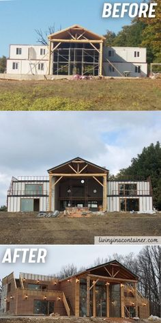 Building A Container Home, Container Cabin, Container Buildings, Container Architecture, Metal Building Homes, Building A House, Dream Home Design, House Design, Shipping Container Home Designs