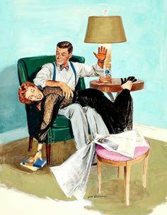 Vintage Domestic Discipline.