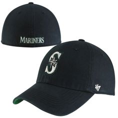 a4abe595a42 Seattle Mariners  47 Game Franchise Fitted Hat - Navy -  23.99