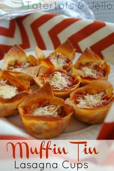 Muffin Tin Lasagna Cups and 12 Muffin Tin Recipes