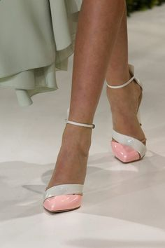 SPRING 2013 Christian Dior pink and white