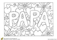 Billiges Vatertagsgeschenk Coloriages fête des mères et des pères Happy Birthday Papa, Happy Birthday Wishes Cards, Dad Birthday Card, Birthday Greetings, Birthday Wishes For Friend, Preschool Coloring Pages, Free Adult Coloring Pages, Rainbow Birthday Party, Rainbow Birthday Invitations