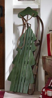 Christmas Tree sled: