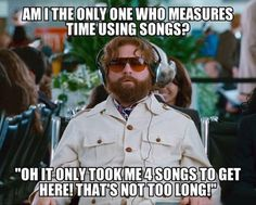measurinf time with songs :)