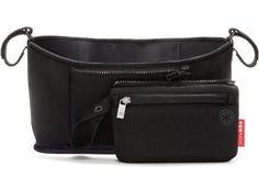 Stroller Bag Baby Carrier Organizer Pack Stretch Velcro Straps Adjustable New   #SkipHop