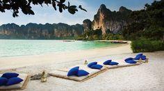 Krabi, railay beach-west