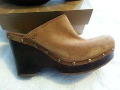 Check out New Authentic UGG Marsalis Dark Chestnut Clog ladies size 10 http://r.ebay.com/o4DGp8 via @eBay