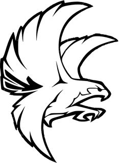 Free vector graphic: Bird, Falcon, Eagle, Fly, Land - Free Image on Pixabay - 308096 Falcon Tattoo, Falcon Logo, Eagle Artwork, Bird Template, Clip Art Library, Animal Stencil, Coloring Pages Inspirational, Eagle Tattoos, Tattoo Stencils