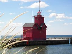 Holland, Michigan's Big Red Lighthouse-One of my very favorite places!