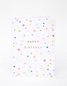 Imagen 2 de Tarjeta de felicitación con guirnalda de Meri Meri