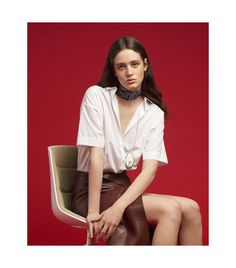Shirt Attire (Flair) Fashion Shoot, Soft Fabrics, Fashion Photography, Blouse, Editorial, How To Wear, Shirts, Inspiration, Style