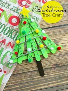crafts to do \ crafts to do when bored ; crafts to do at home ; crafts to do with kids ; crafts to do ; crafts to do with toddlers ; crafts to do at home when bored ; crafts to do when bored diy ; crafts to do with boyfriend Preschool Christmas, Christmas Activities, Christmas Crafts For Kids, Homemade Christmas, Christmas Projects, Christmas Ornaments, Popsicle Stick Christmas Crafts, Christmas Decorations For Tree, Popcicle Stick Ornaments