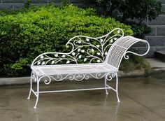 47 Ideas Outdoor Furniture Patio Wrought Iron For 2019 Outdoor Furniture Plans, Lawn Furniture, Steel Furniture, Home Decor Furniture, Wrought Iron Window Boxes, Wrought Iron Wall Art, Wrought Iron Chairs, Retro Furniture Makeover, Wooden Christmas Crafts
