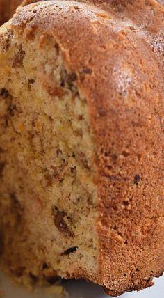 Morning Glory Bundt Cake