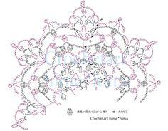 Crochet Snowflake Pattern, Crochet Doily Diagram, Crochet Motif Patterns, Crochet Snowflakes, Crochet Mandala, Crochet Chart, Crochet Circles, Crochet Squares, Lace Doilies