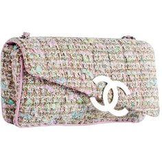 ab8ab9bf6db7 Chanel Tweed Classic Fantasy Flap Bag