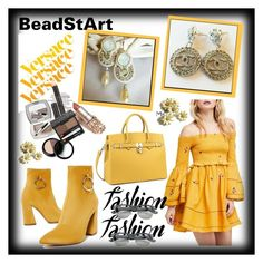 """BEAD ST ART #8-II"" by nizaba-haskic ❤ liked on Polyvore featuring Free People, Versace and Reception"