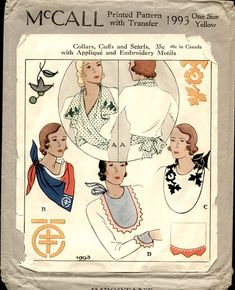This is a 1930s pattern, but also a way to change up a costume like we did in Sound of Music for wedding dresses