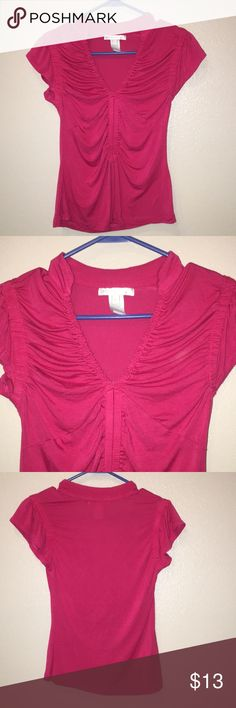 Small Pink blouse Small like new pink blouse from design history. Great condition. Comes from a smoke free and pet free home Design History Tops Blouses