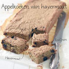 Appelkoeken van havermout recept. Dit gezonde recept voor appelkoeken van havermout is makkelijk om te maken en heel erg lekker! Havermout is gezond en g...
