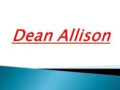Dean Allison by painal via authorSTREAM