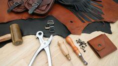 Leatherworking Class Trailer