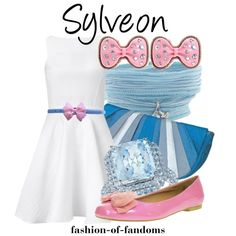 """Sylveon"" by fofandoms on Polyvore"