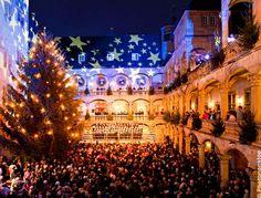 Ouverture du marché de Noël de Stuttgart, Allemagne