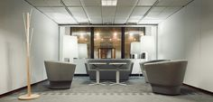 PL presidency (2011 H2) - Decoration of Justus Lipsius: Sofas & Armchairs & Lamps (by Studio Rygalik)