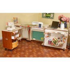 #9: Kangaroo Kabinets Aussie Sewing Cabinet- Teak