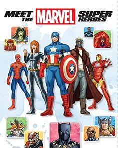 Meet the Marvel Super Heroes , 2nd Edition by Chris Wyatt http://www.amazon.com/dp/1484706706/ref=cm_sw_r_pi_dp_WIsqvb14174B4