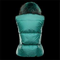 43212004445b veste cuir femme, boutique Moncler Veste Femme pas chère CER Vert, veste  moncler pas