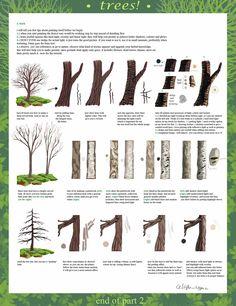 tree tutorial part 2 by calisto-lynn