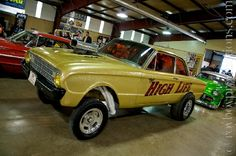old ford gassers | Ford Falcon Gasser, falcon straight axle gasser