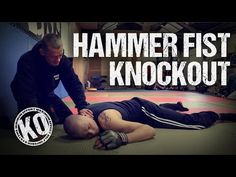 Self Defence Hammer Fist Knockout - YouTube
