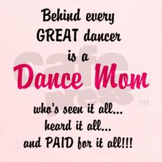 dance mom T-Shirt on CafePress.com