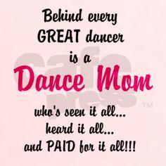 dance mom T-Shirt on CafePress.com