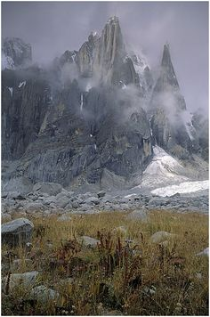 Pakistan's Karakoram. It is difficult to imagine Alexander moving his troops over this rough terrain.