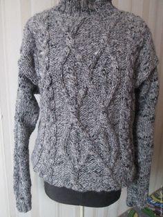 Купить свитер с косами - свитер с косами, свитер из толстой пряжи, свитер с аранами, одежда для всей семьи