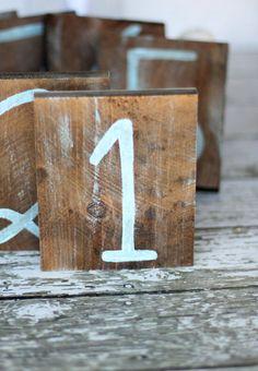Rustic Nautical Beach Table Numbers Distressed by braggingbags Beach Wedding Tables, Boho Beach Wedding, Our Wedding, Wedding Stuff, Beach Weddings, Wedding Bells, Rustic Wedding, Dream Wedding, Nautical Wedding Inspiration