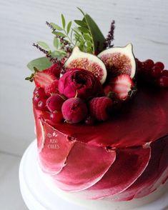 Cake Decorating – The Wedding Cake Gorgeous Cakes, Pretty Cakes, Amazing Cakes, Beautiful Birthday Cakes, Food Cakes, Cupcake Cakes, Cake Recipes, Dessert Recipes, Decoration Patisserie