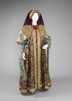 Russian ensemble via The Costume Institute of the Metropolitan Museum of Art