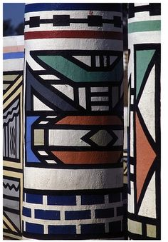 Inspired by: Ndebele Tribe of South Africa - pattern - street art - colour - shapes -creative darkroomlondon.com/