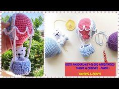 OSITO Y GLOBO TEJIDO A CROCHET - PARTE 1 - YouTube Crochet Crafts, Crochet Toys, Crochet Baby, Crochet Projects, Crochet Mobile, Crochet Videos, Easy Crochet Patterns, Craft Work, Baby Knitting