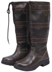 Brown Womens Saxon Country Boots