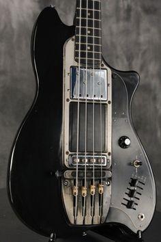1979 Ovation MAGNUM II Bass rare BLACK