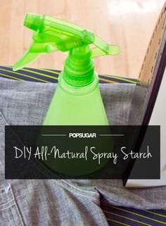Hate Ironing? DIY This All-Natural Spray Starch