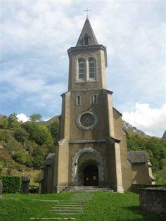 L'église d'Etsaut - Vallée d'Aspe, Pyrénées Atlantique