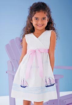love the warp dress using SarahJane Studio's fabric from her out to Seas line.    source: CWDkids, 3/13